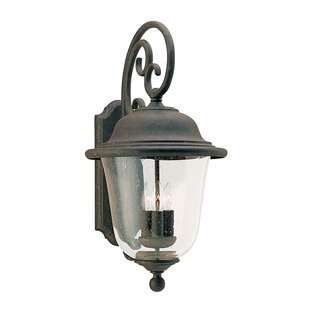 Fleur De Lis Living Elizabeth 3-Light Outdoor Sconce