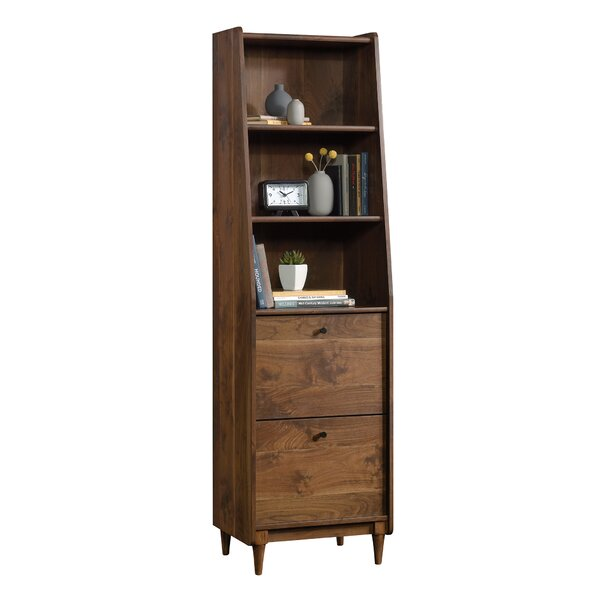 Ivy Bronx Gamma Narrow Standard Bookcase & Reviews by Ivy Bronx