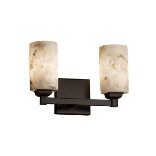 Read Reviews Conovan 2-Light Vanity Light By Rosecliff Heights