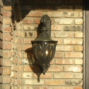 Compare prices Phillipstown 3-Light Outdoor Wall Lantern By Alcott Hill