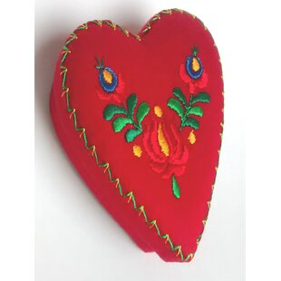 Online Reviews Heart Fabric Box By The Sandor Collection