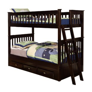 Kaitlyn Twin Bunk Bed with Drawers
