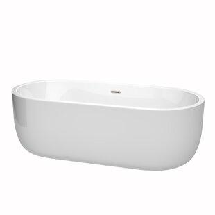 Compare & Buy Juliette 71 x 31.5 Freestanding Soaking Bathtub ByWyndham Collection