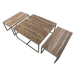 Wynter 3 Piece Coffee Table Set By Williston Forge