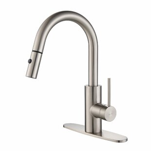 Review Oletto Pull Down Single Handle Kitchen Faucet by Kraus