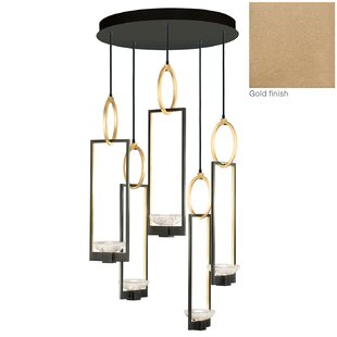 Fine Art Lamps Delphi 5-Light Cluster Pendant