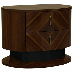 Leith Wooden 2 Drawer Nightstand by Brayden Studio