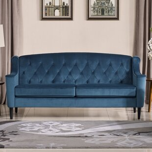 Find for Crewkerne Velour Standard Sofa by Mercer41 Reviews (2019) & Buyer's Guide
