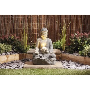 Free S&H Gregoire Polystone Fountain With LED Light