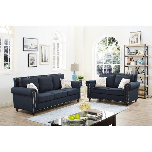 Ashlyn 2 Piece Living Room Set