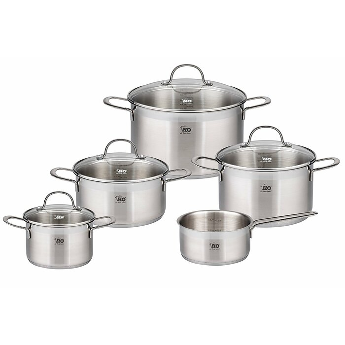 Westmark 9 Piece Stainless Steel Induction Cookware Set