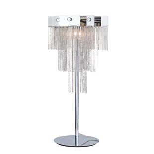 Speidel Iron Chain Pyramid 24 Table Lamp