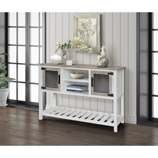 Gracie Oaks Poynor Console Table