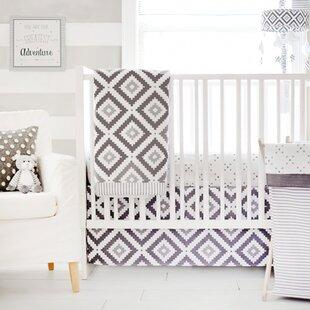 Swanville 3 Piece Crib Bedding Set