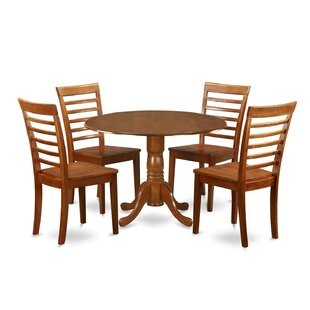 Spruill 5 Piece Extendable Dining Set by August Grove Best Choices