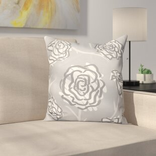 Speth Spring Floral Outdoor Throw Pillow