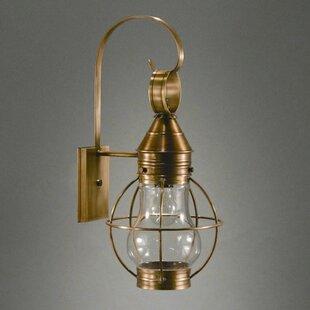 Gary 1-Light Outdoor Wall Lantern by Long..