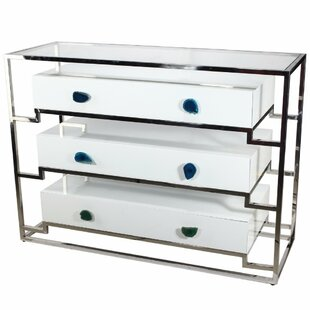 Charie 3 Drawer Accent Chest by Everly Quinn