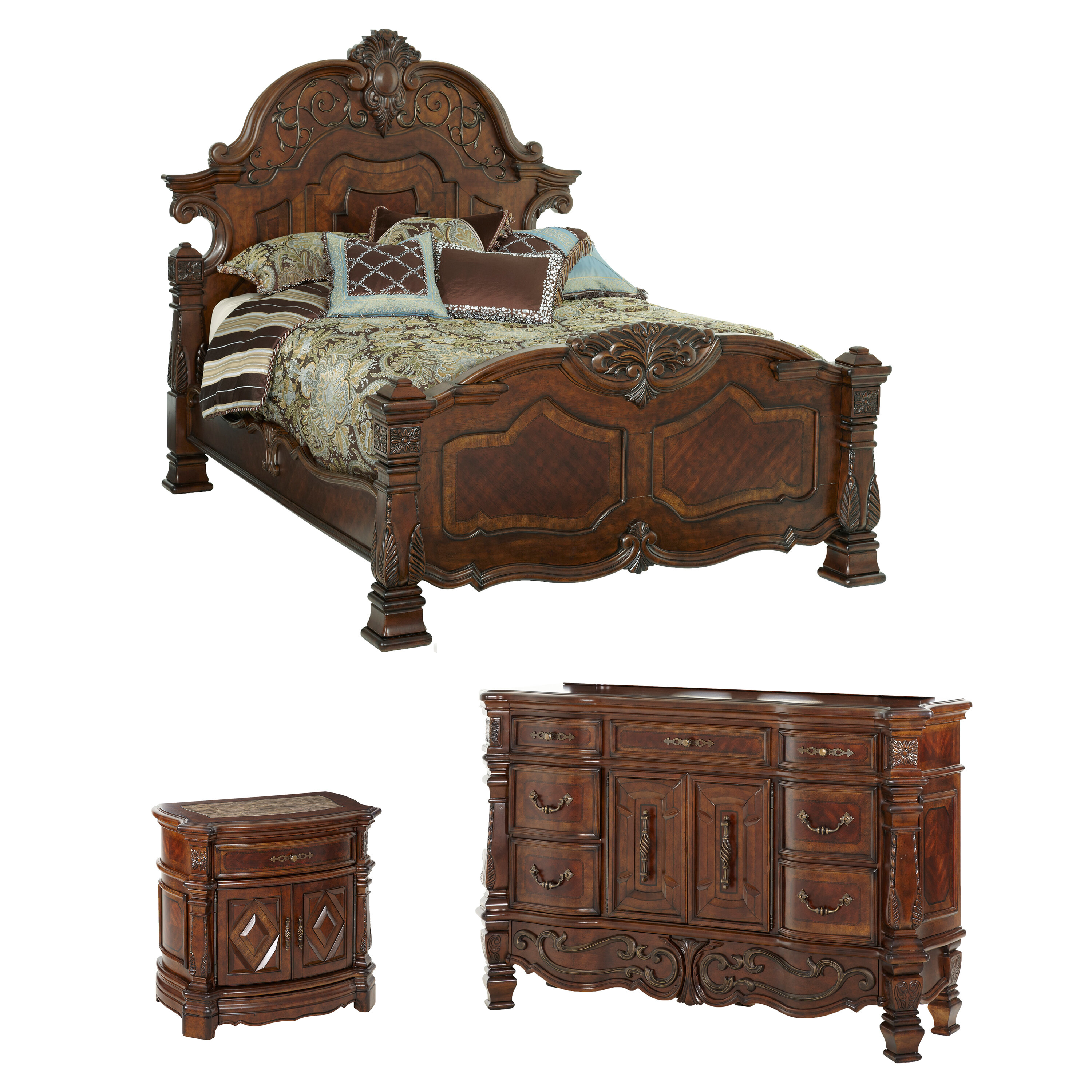 Exceptionnel Michael Amini Windsor Court Platform Configurable Bedroom Set U0026 Reviews |  Wayfair