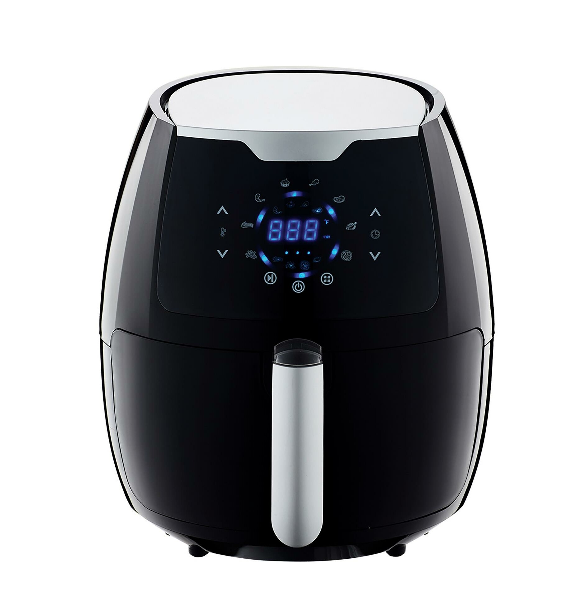 Air Fryer-LED control panel with 7 pre-set functions-3.2 litres capacity