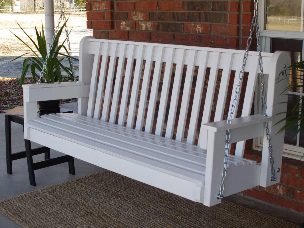 Micelotta High Back Porch Swing August Grove