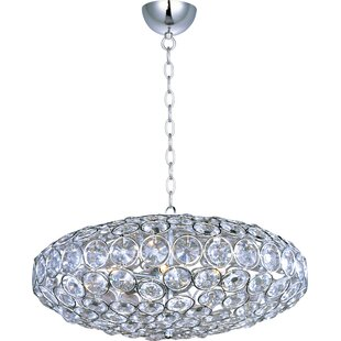 Willa Arlo Interiors Devereaux 8-Light Crystal Chandelier