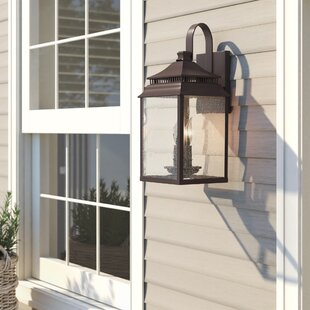 Briarfield 2-Light Outdoor Wall Lantern by Birch Lane™ Heritage Herry Up