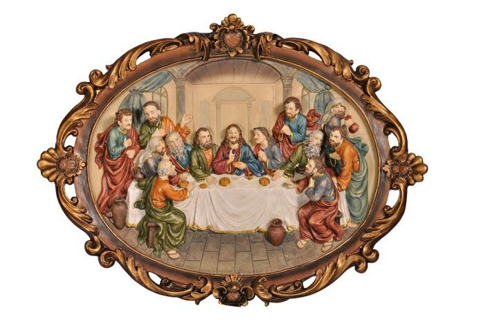 Last Supper Wall Decor sintechno inc last supper wall décor painting print & reviews