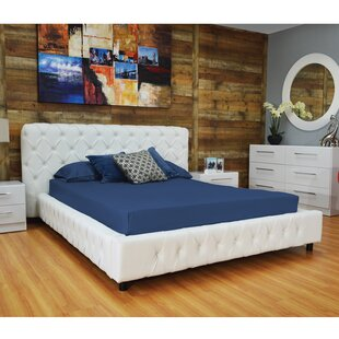 Everly Quinn Burnley Upholstered Platform Bed