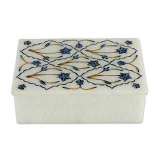 Read Reviews Starflowers Marble Inlay Jewelry Box ByBloomsbury Market