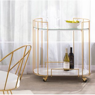 Lystra Bar Cart by Everly Quinn