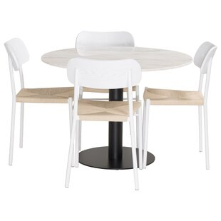 Celyn Dining Set With 4 Chairs By Ebern Designs