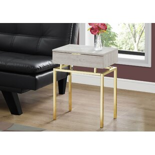 Online Reviews Harva End Table with Storage By Mercer41