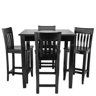 Weingartner 5 Piece Pub Table Set