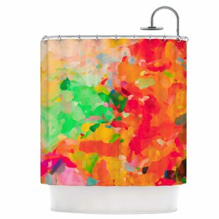 East Urban Home La Rochelle-Abstract Shower Curtain