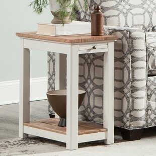 Gilmore End Table by Rosecliff..