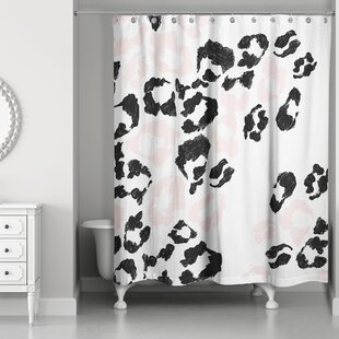 Christiana Leopard Print Shower Curtain