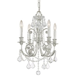 House of Hampton Frida 4-Light Candle Style Chandelier