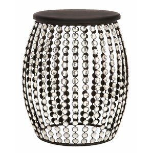 Jacinth Beaded Stool  sc 1 st  Wayfair : chrome garden stool - islam-shia.org