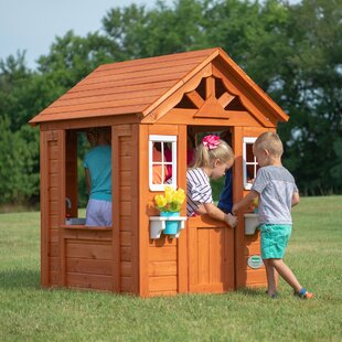 Timberlake 3.5' x 3.83' Playhouse by Backyard Discovery