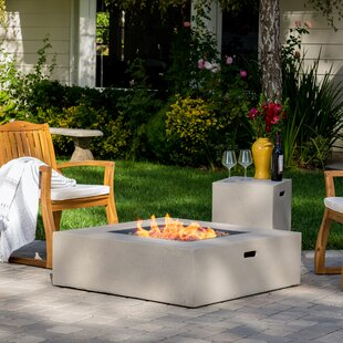 Olivet Propane Fire Pit Table