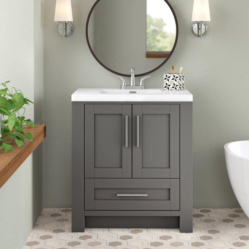 Wrought Studio Durand 30 Single Bathroom Vanity Set Reviews Wayfair