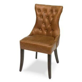 Sarreid Ltd Hinckley Leather Side Chair
