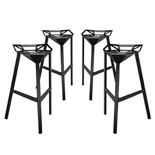 Compare prices Albaugh 32.5 Bar Stool (Set of 4) by Brayden Studio Reviews (2019) & Buyer's Guide