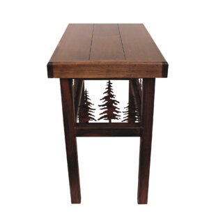 Connor Feather End Table by Millwood Pines Best Choices