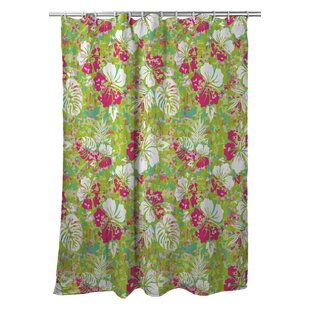 Tropical Key West Tropical Single Shower Curtain