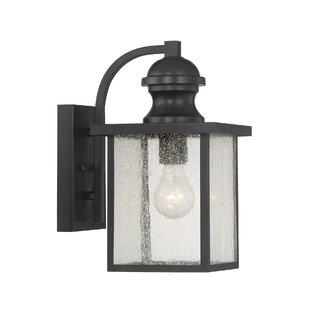 Etna 1-Light Outdoor Wall Lantern By Red Barrel Studio Outdoor Lighting