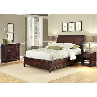 Three Posts Curran Panel 3 Piece Bedroom Set