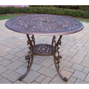 Mississippi Metal Dining Table by Oakland..