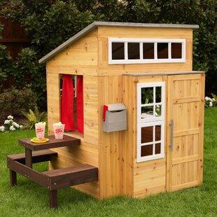 Modern Outdoor Playhouse By KidKraft